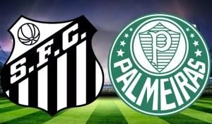 Santos x Palmeiras ao vivo