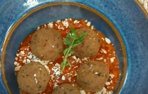 Polpetinhas com Molho de Tomate