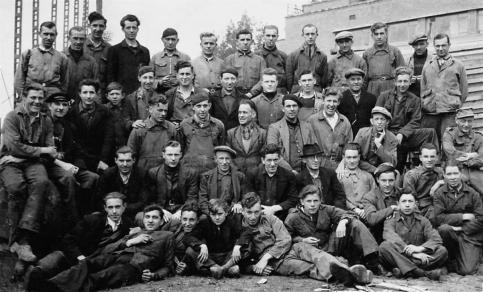 schrijnwerkers Boelwerf 1947