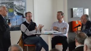 Panelgesprek op de erfgoeddag van 2014 met uiterst rechts Alex Suanet