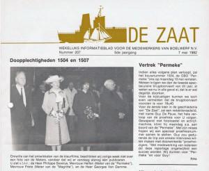 Zaatbladje 1982