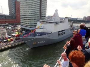Nederlands Fregat-wereldhavendagen-Rotterdam