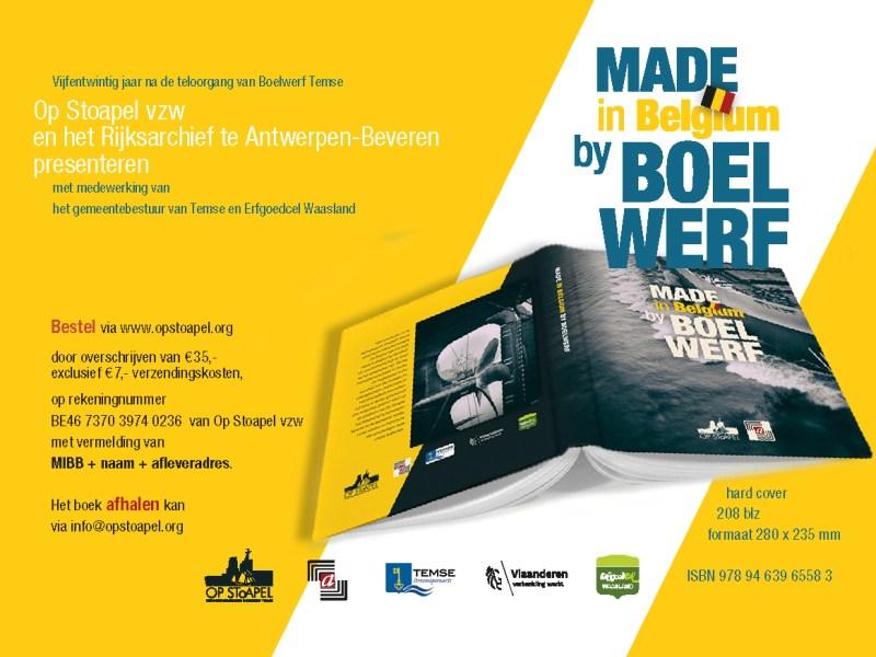 'Made in Belgium by Boelwerf' nu verkrijgbaar
