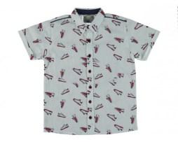 Рубашки с коротким рукавом на мальчика 1-16 лет