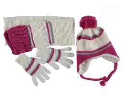 Шапки, шарфы, перчатки на девочку