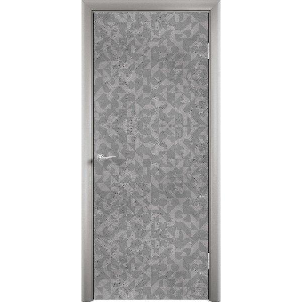 Дверь облицованная пластиком CPL (глухая, мавритания)
