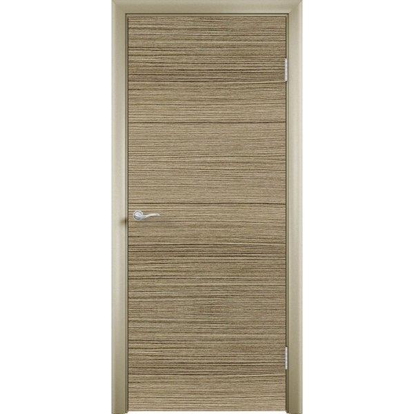 Дверь облицованная пластиком CPL (глухая, риголетто зееленый)