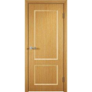 Шпонированная дверь Марсель (глухая, дуб)