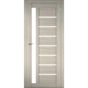 Межкомнатная царговая дверь Д-02 (со стеклом, неаполь)