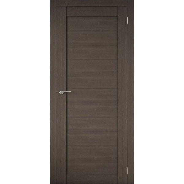 Межкомнатная царговая дверь Р-01 (глухая, грей)