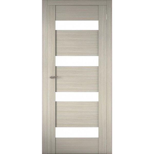 Межкомнатная царговая дверь Р-02 (со стеклом, неаполь)