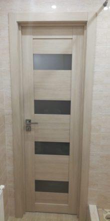 Царговая дверь со стеклом от производителя