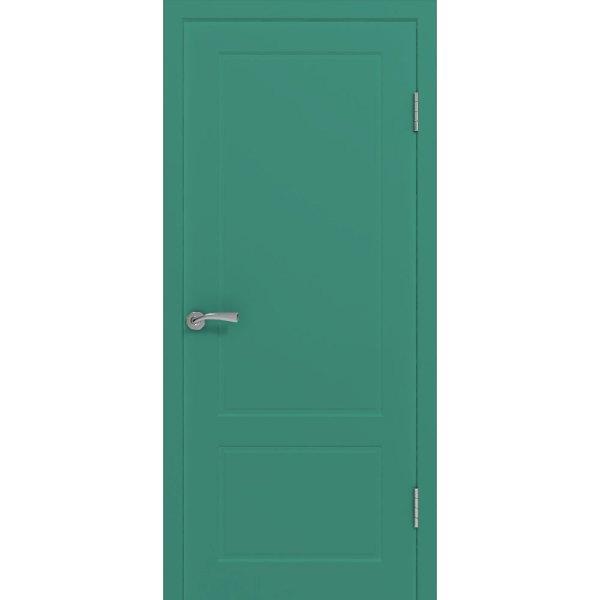 Крашеная дверь Марсель (глухая, RAL 6000)