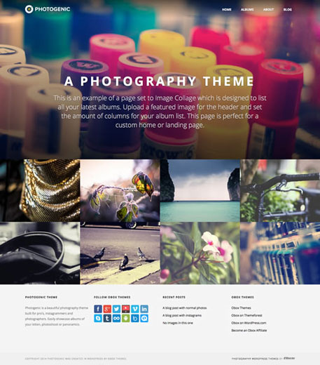 Photography Theme by Obox