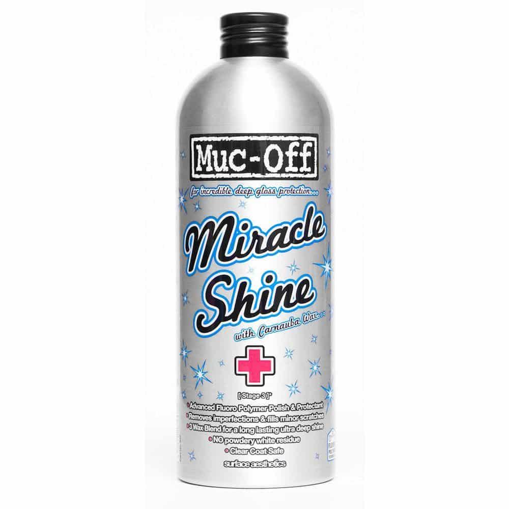 - Muc-Off Miracle Shine, vosek za zaščito in poliranje okvirjev - OPTIBIKE