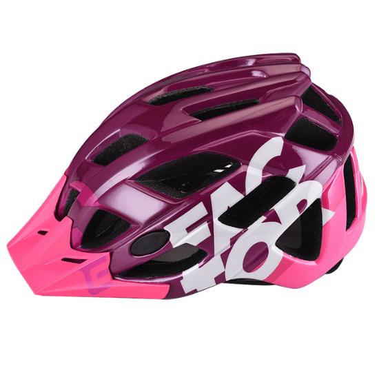 - Enduro MTB čelada Extend Factor (roza - bordo) - poškodovana embalaža - OPTIBIKE