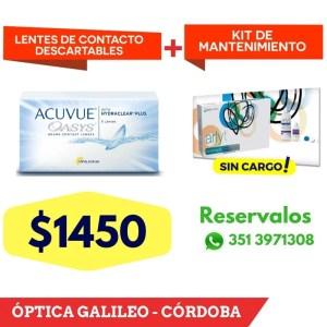 Acuvue Oasys – Lentes de Contacto descartables lentes de contacto descatables acuvue oasys cordoba 2
