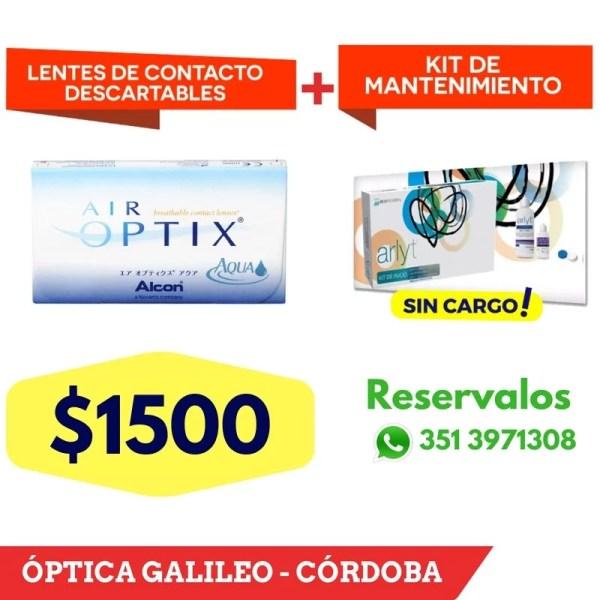 Air Optix – Lentes de Contacto descartables lentes de contacto descatables air optix cordoba 2