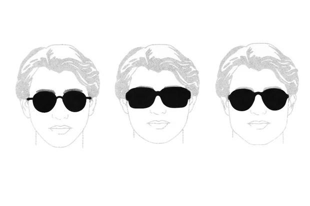9b3fbe3d20 Qué anteojos de sol elegir según tu cara – Óptica Galileo