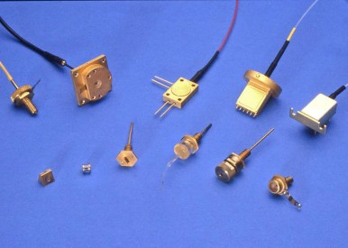 Eleven early semiconductor laser packages