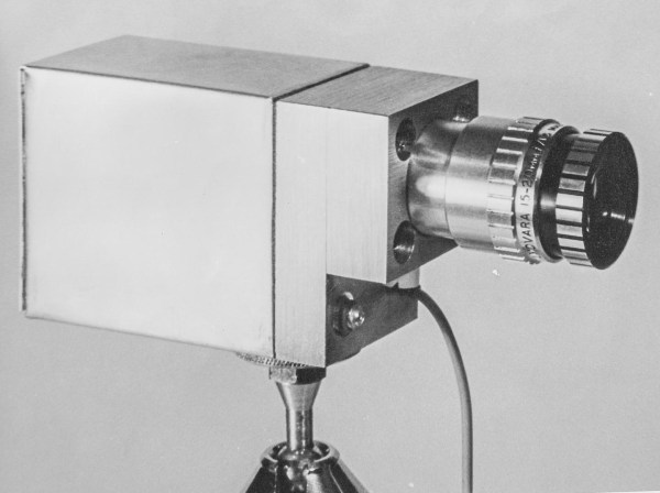 Free Space link receiver from 1966. Manchester University - Paul Sinclair & Richard Epworth