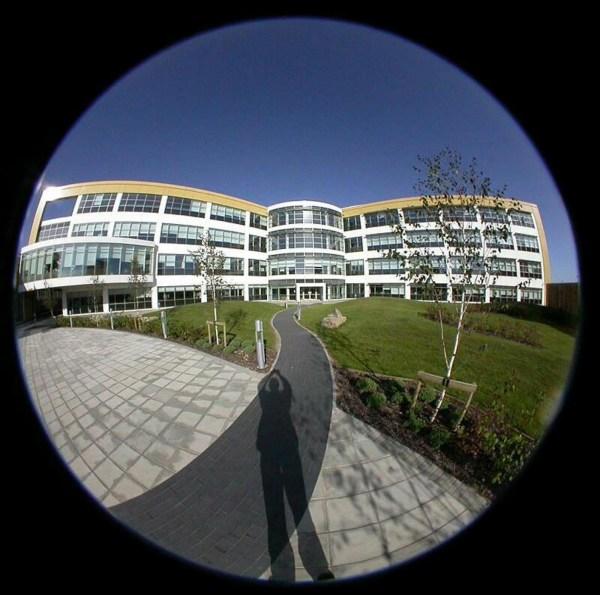 V-Building built by Nortel