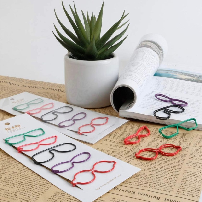 glasses paperclips