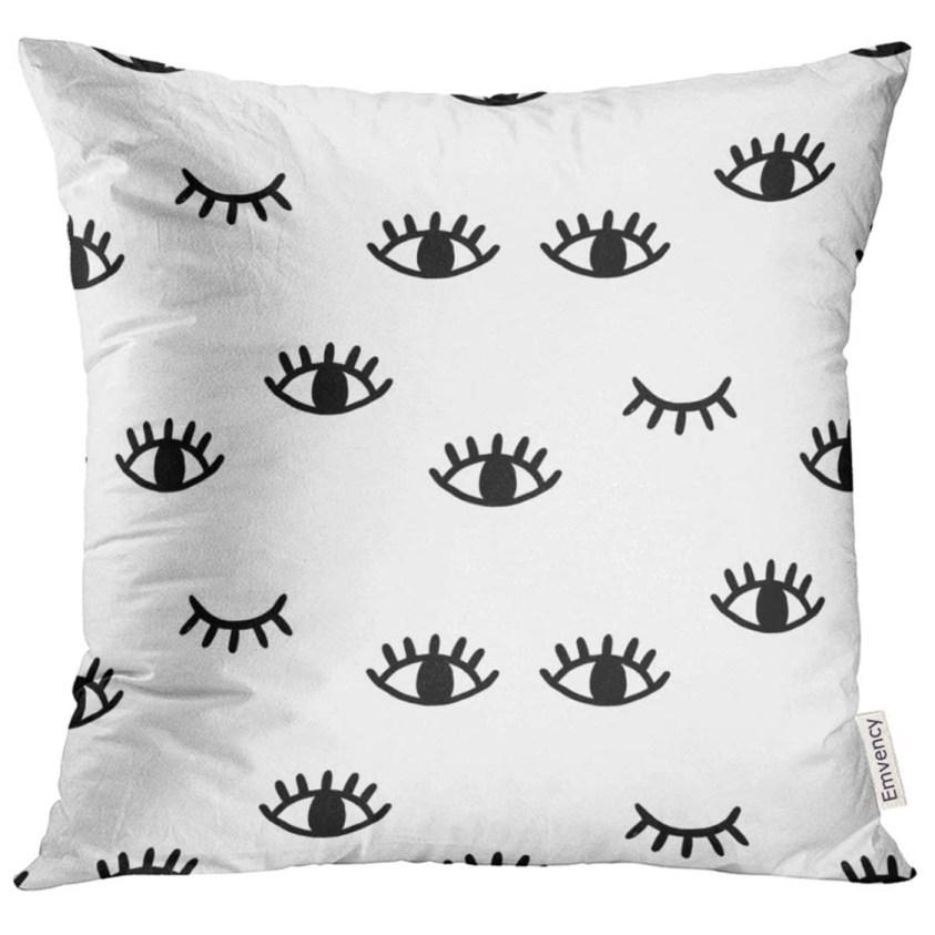 eye wink pillow