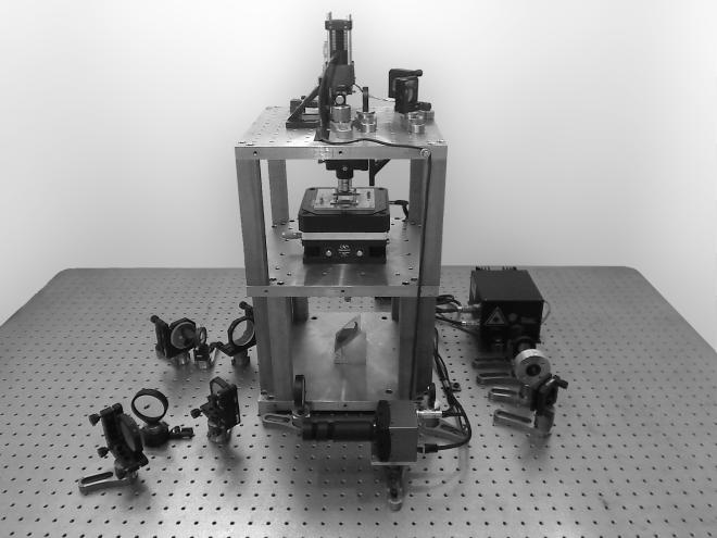 Fig. 8.1 — Homemade optical tweezers