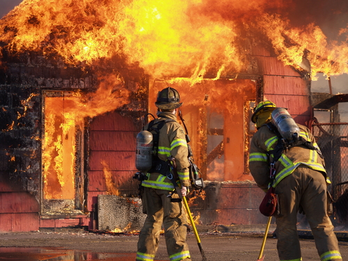 Firefighters should watch for stress symptoms