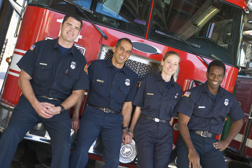 Firefighters use their skills for a good cause