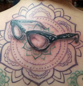 3-D Licensed Optician Tattoo