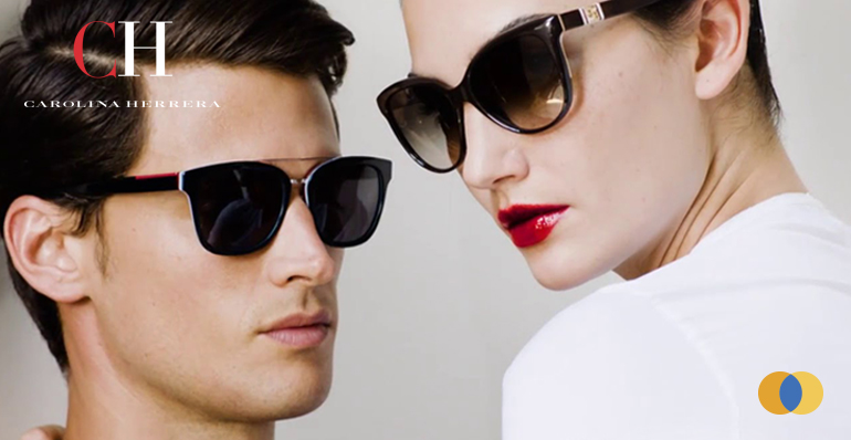 óculos de sol Carolina Herrera