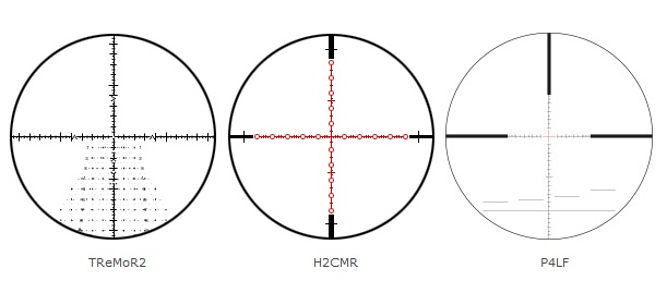 S&B 5-45x56 PM II High Power Reticles