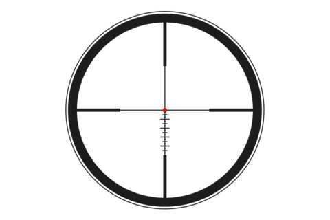 Leica ERi L-Ballistic iluuminated Reticle