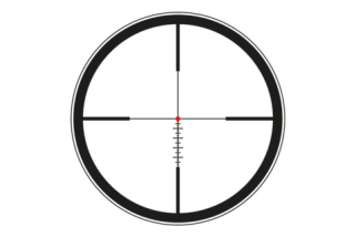 Leica ERi L-Ballistic illuminated Reticle
