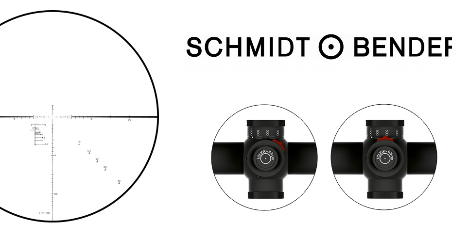 S&B LRR-MIL reticle and MT II Turret