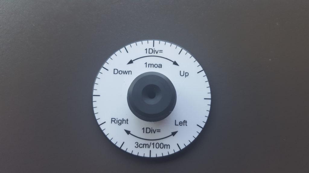Adjustment Disk