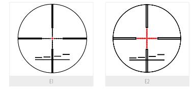 3e Keskin 5–25x56 available reticles