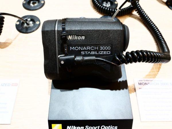 Nikon Monarch 3000 STABILIZED Laser Rangefinder @IWA2018