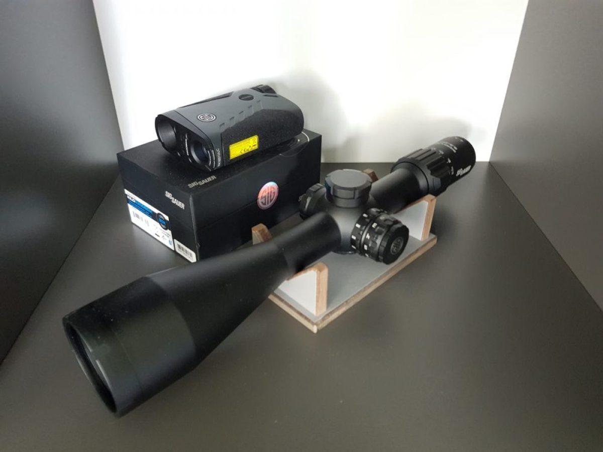 Sig Sauer SIERRA3BDX 6.5-20x52 and KILO2200BDX