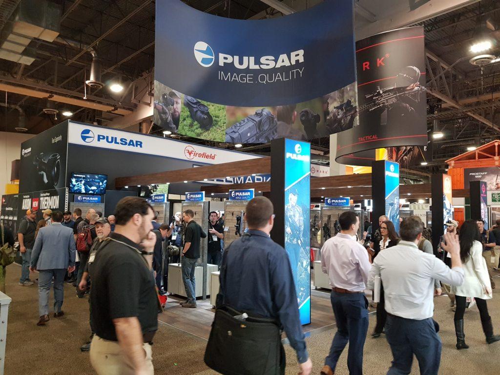 Pulsar's booth at Shot Show 2019