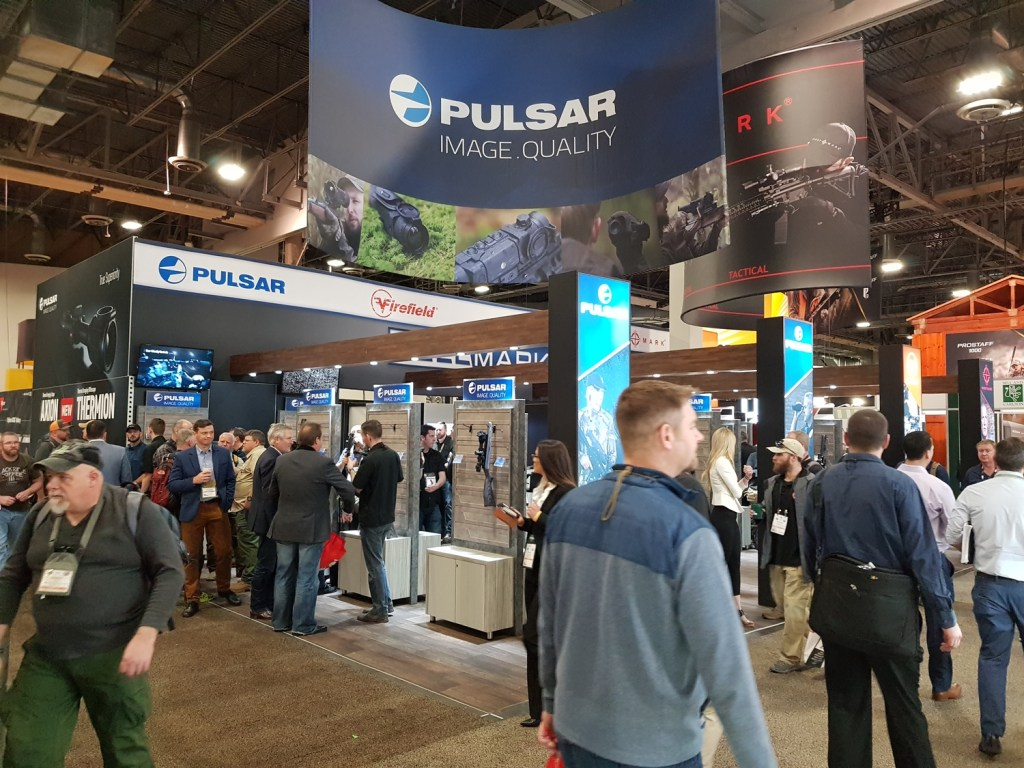 Pulsar's booth at Shot Show 2019