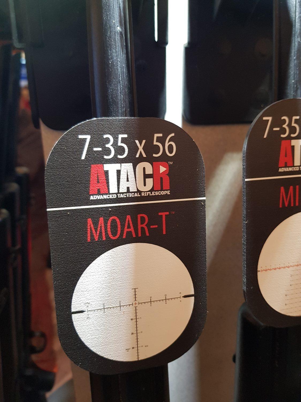 Nightforce ATACR 7-35x56 SFP - MOAR-T reticle