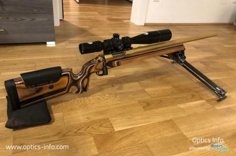 Tier One Bipod on a Sabatti TLD Gold F-Class TR rifle