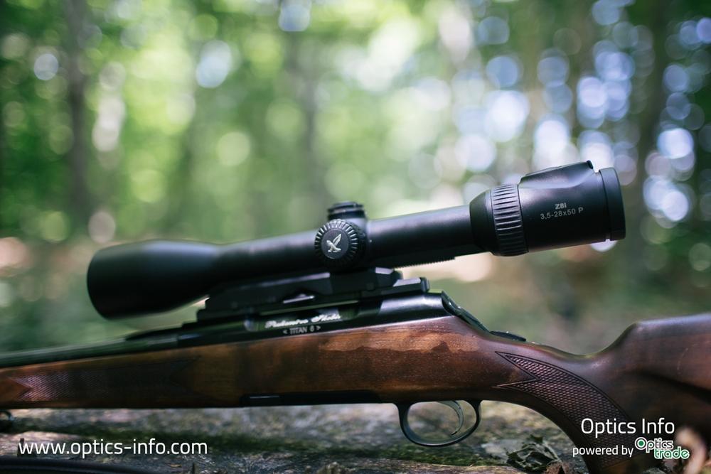 Swarovski Optik Z8i 3.5-28x50 P Riflescope