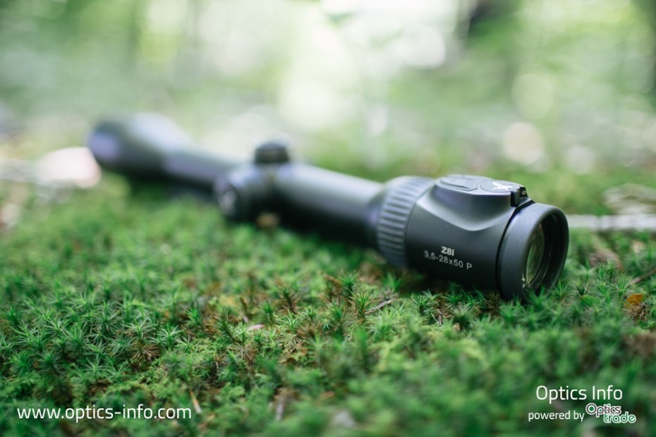 Swarovski Optik Z8i 3.5-28x50 P Riflescope
