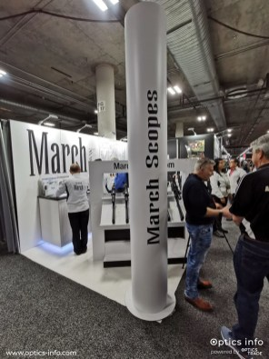 March's booth at Shot Show 2020