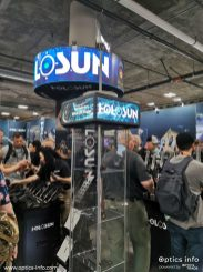 Holosun's booth at Shot Show 2020