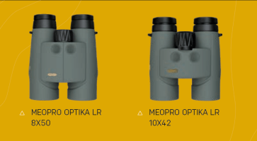 Meopta MeoPro Optika LR 8x50 and Meopta MeoPro Optika LR 10x42